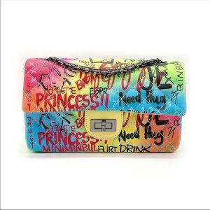 Handbags - Medium Graffiti Bag